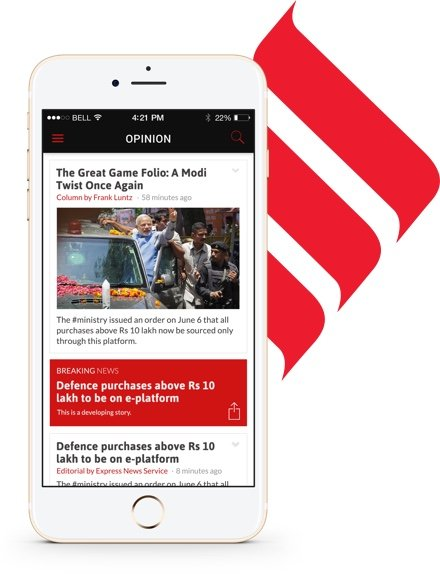 creative - news app design