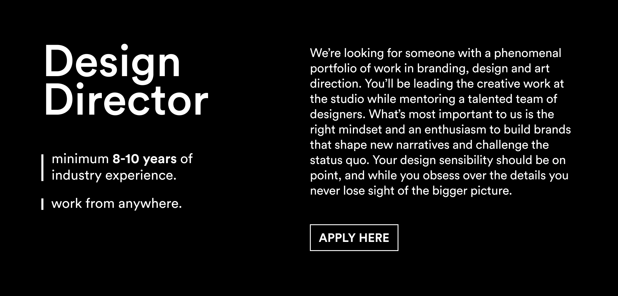 Linkedin – Design Director